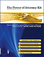 Power of Attorney Kit for Victoria